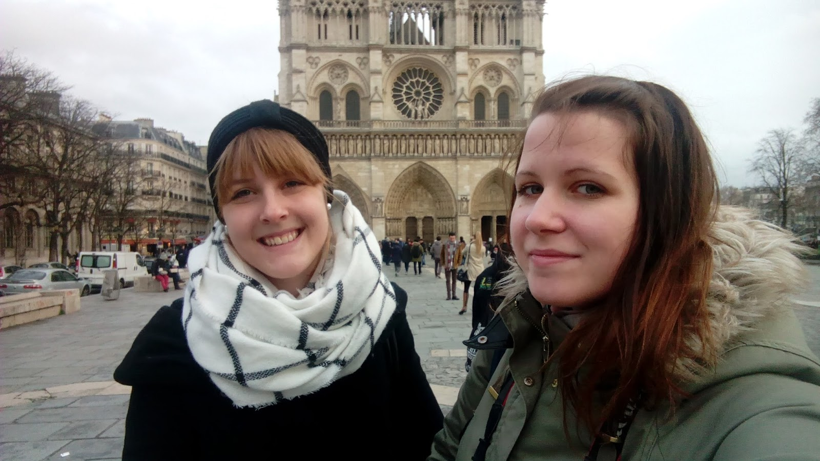 Selfies for Life mit Notre Dame und so