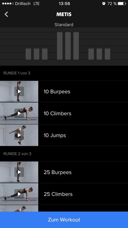 Der Workout Metis: Die Burpees sind reine Folter!