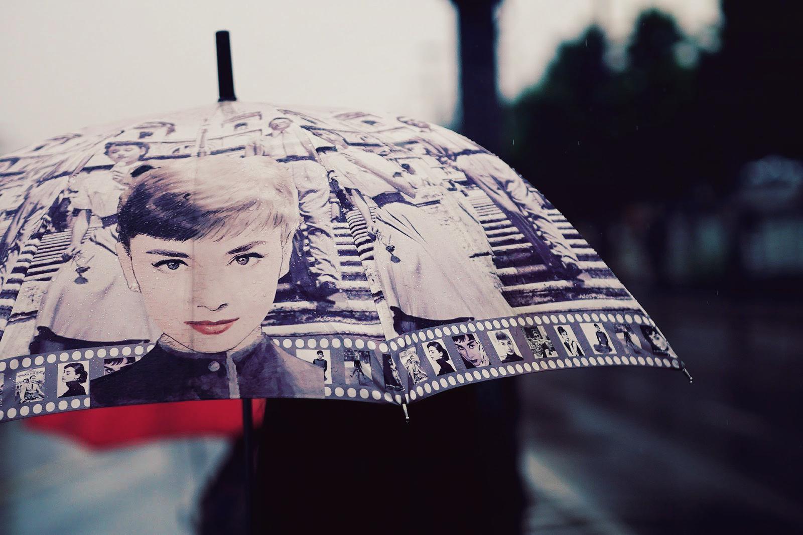 Audrey Hepburn Schirm