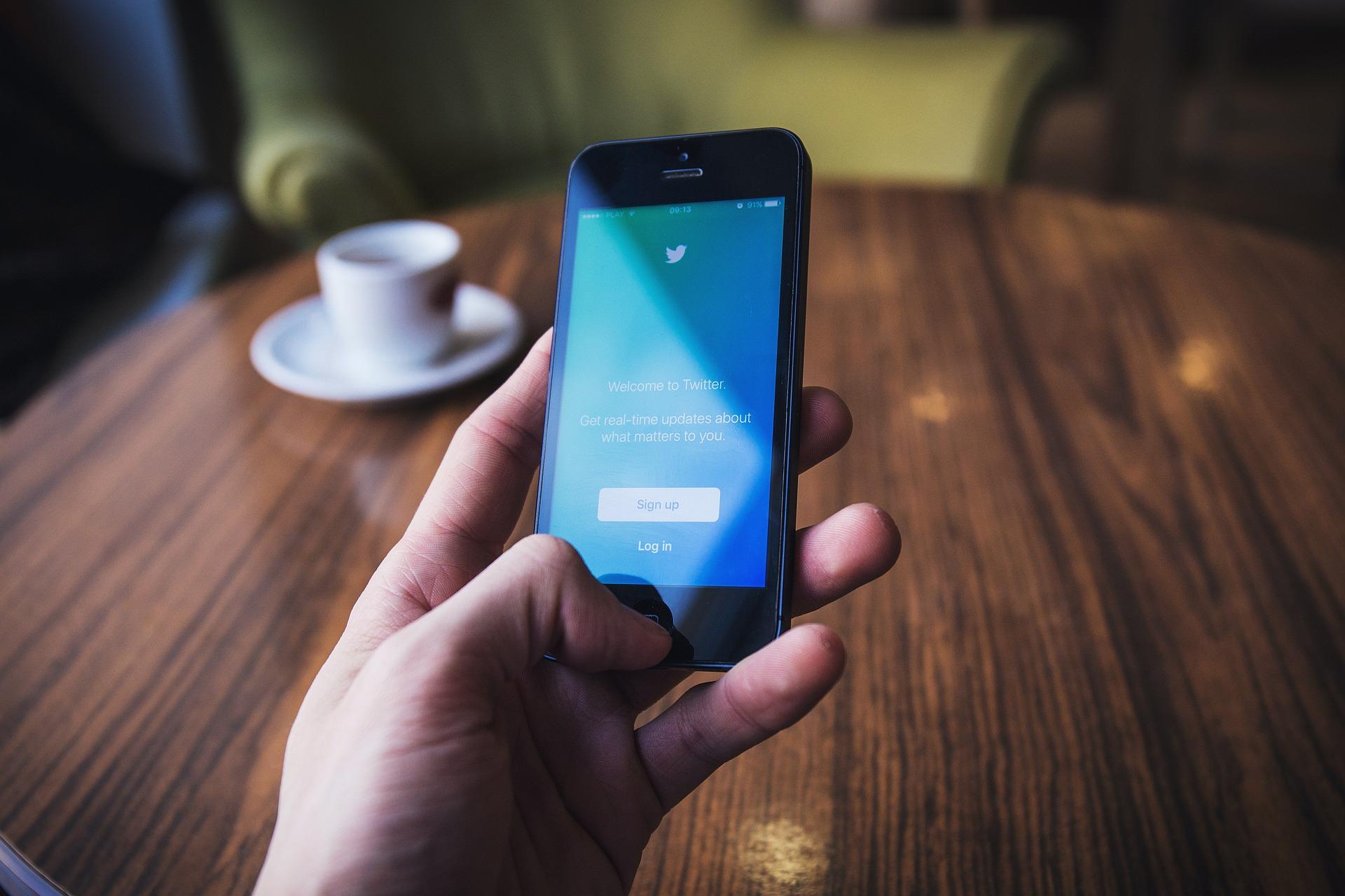 Twitter als bestes Social Network