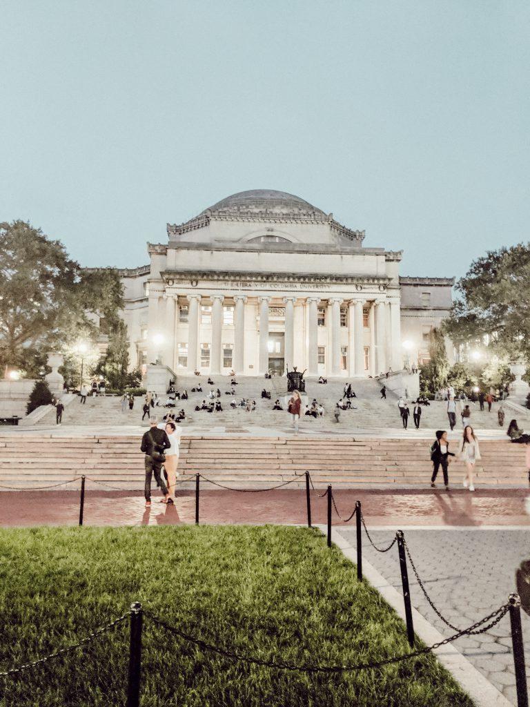 Der Campus der Columbia