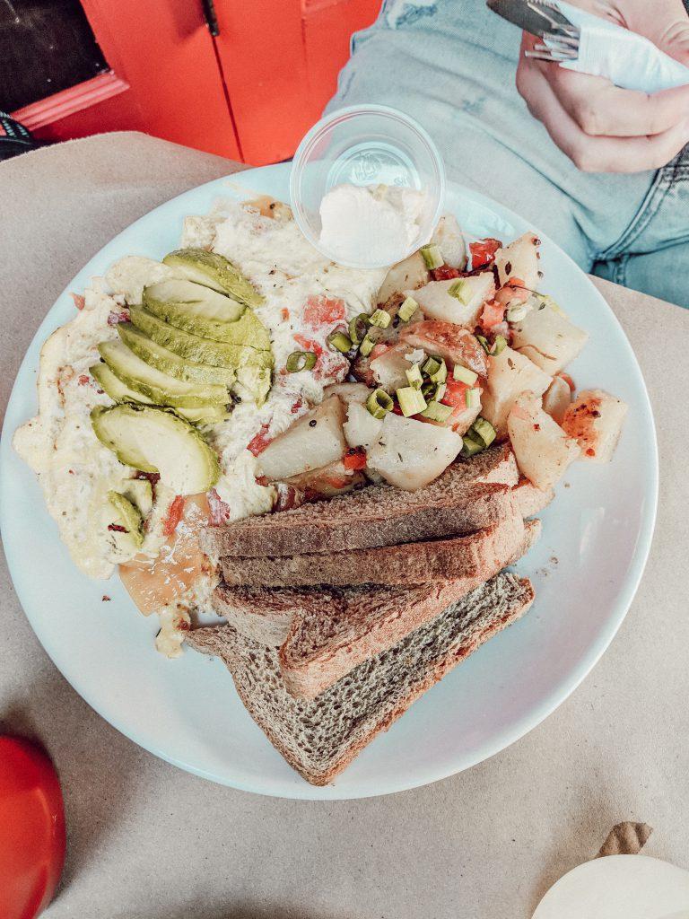 Omlett bei Effys Café