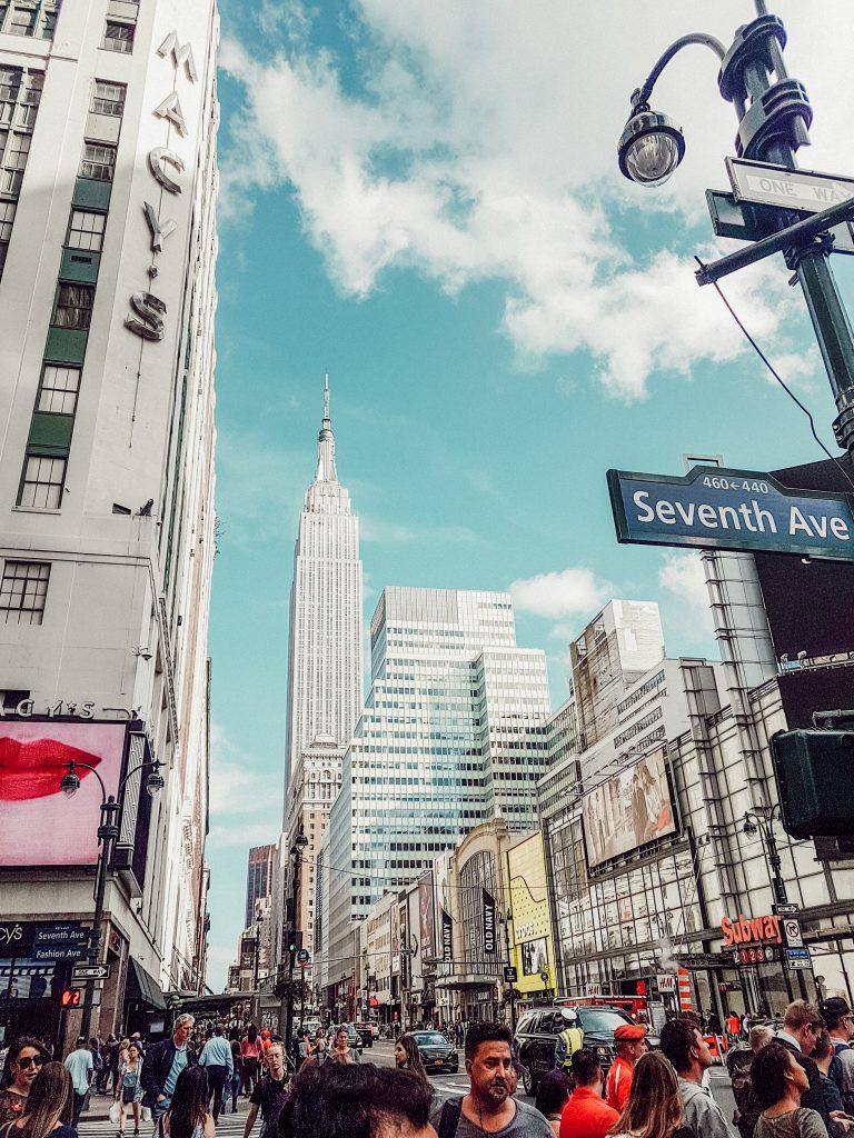Empire State Building von Macy's aus fotografiert